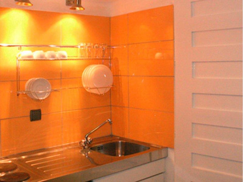 Despotiko apartment hotel & suites kuhinja