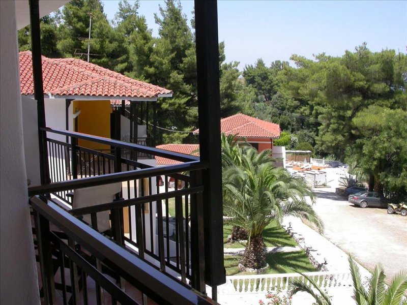 Kassandra Bay Village Kriopigi pogled sa terase