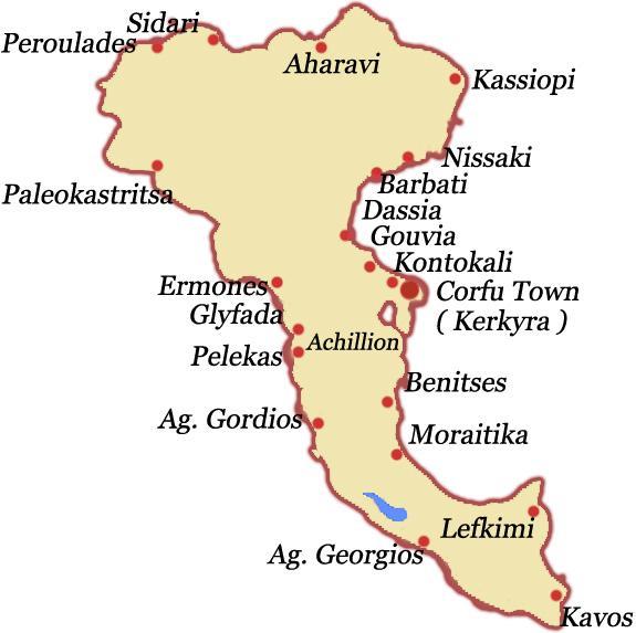mapa krfa