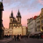 Docek Nove Godine u Pragu i drugim Evropskim gradovima