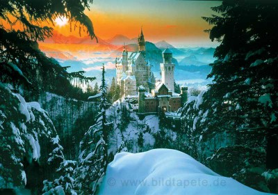 Dvorci Bavarske - Docek Nove Godine