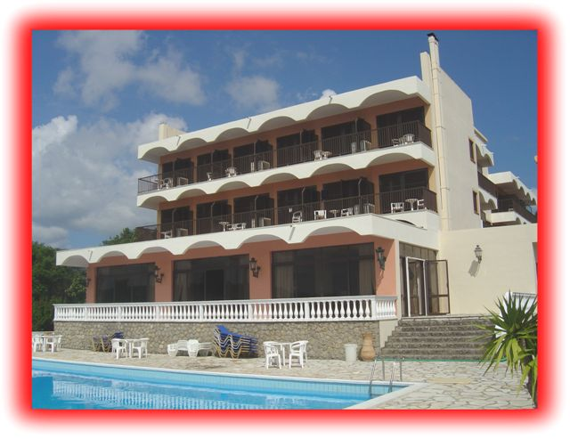 Hoteli na Krfu - Hotel Eliana