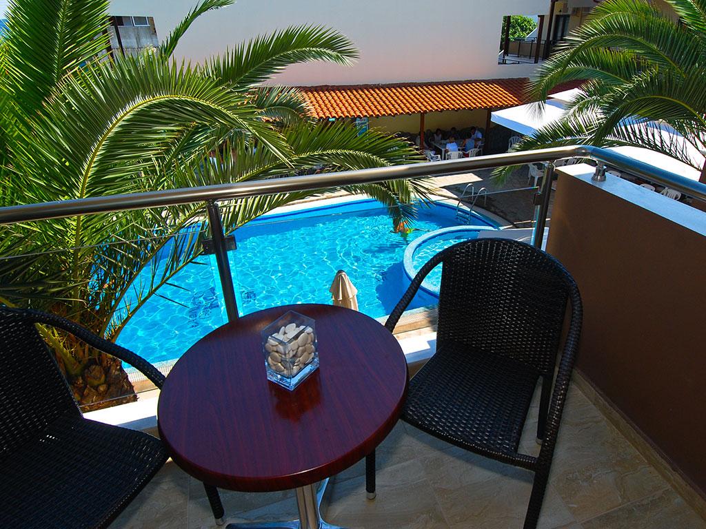 Hotel Simeon pogled sa terase