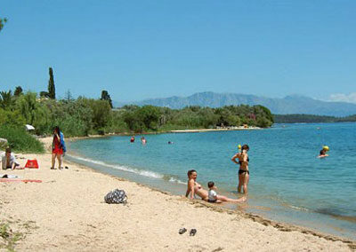 vila na plazi Lefkada