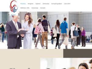 sajt za turisticku agenciju